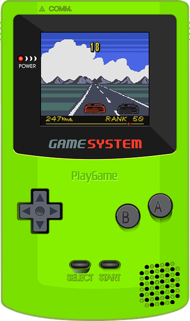 game boy et consoles de jeux
