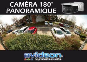 caméra panoramique de surveillance