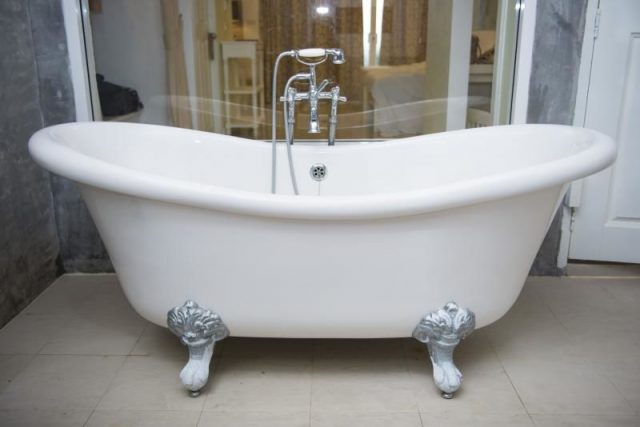fuite de baignoire