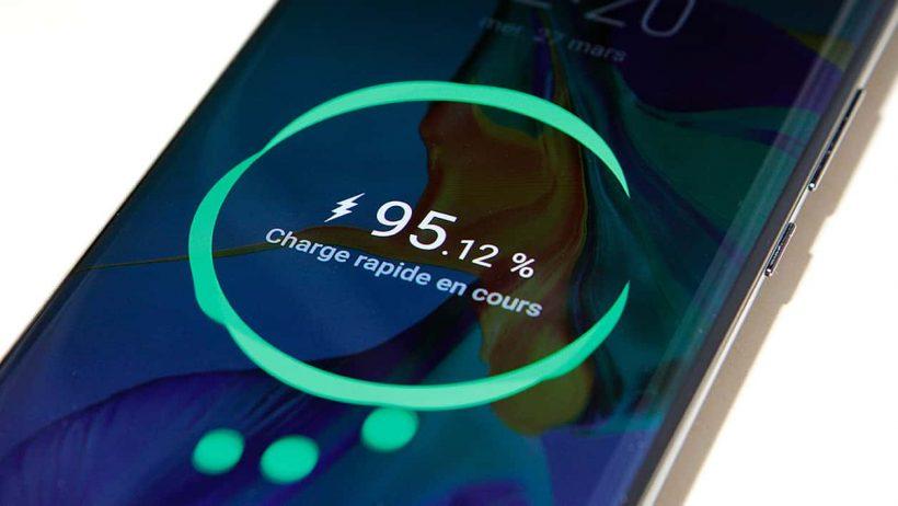 batterie de votre Huawei